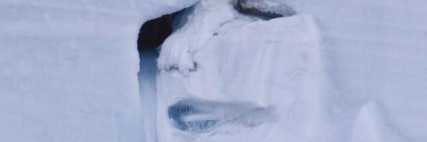 環境 地球の勧告!?「母なる大自然」が涙...北極海の氷河が崩れて女性の泣き顔に...