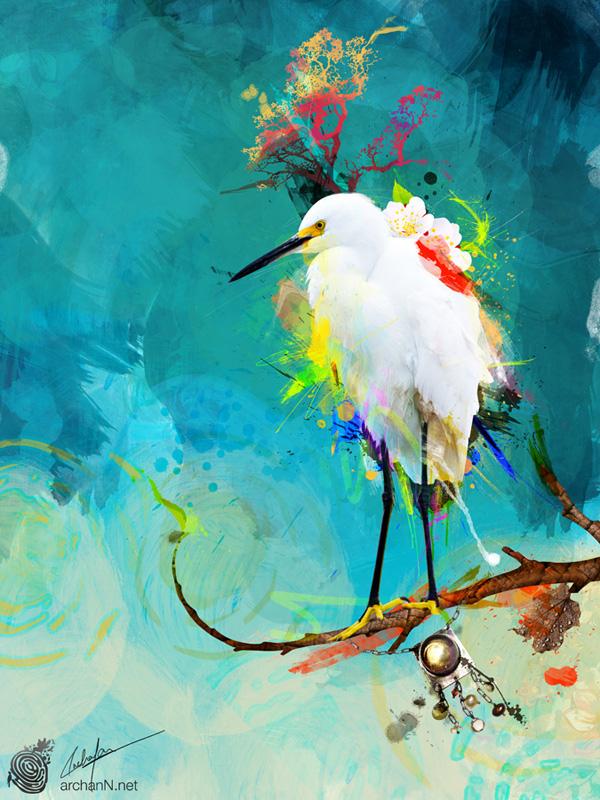 アジアの素晴らしいデジタルアーティスト達の芸術的な100作品(オーストラリアも含みます)