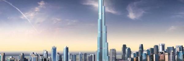 世界で最も高い超高層ビル ブルジュドバイ(Burj Dubai)の除幕式の動画