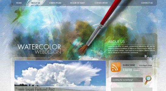 ハイクオリティなウェブサイト作成のためのPhotoshopチュートリアル80個