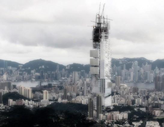 未来の超高層ビルはまるでRPGの世界!超高層ビルのデザインコンテスト受賞作品