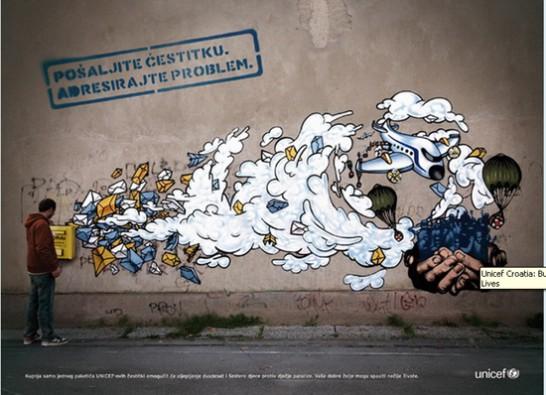 落書きとは言えない!優れたグラフィティ、ストリートアート