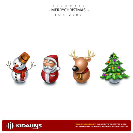 クリスマス感を簡単に演出!美しい無料のクリスマスアイコンセット